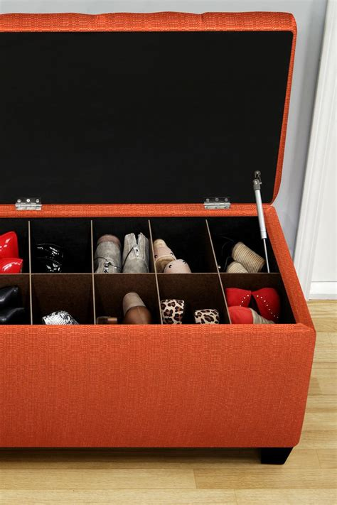 make your own shoe storage shoe storage bench could easily be made for much cheaper