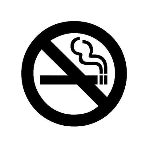 no smoking sign black and white 12 5 12 5cm no smoking signs car stickers cartoon car