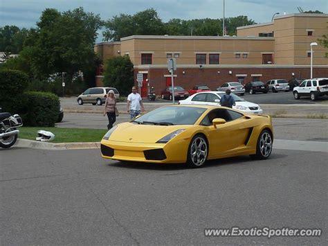 Lamborghini Minneapolis Lamborghini Gallardo Spotted In Minneapolis Minnesota On