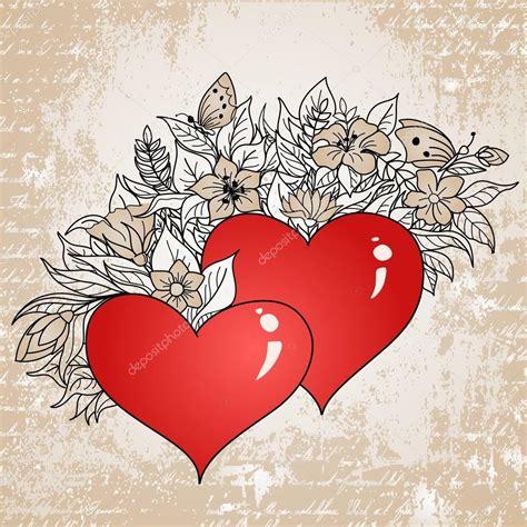 immagini con fiori e cuori cuori e fiori fiori idea immagine
