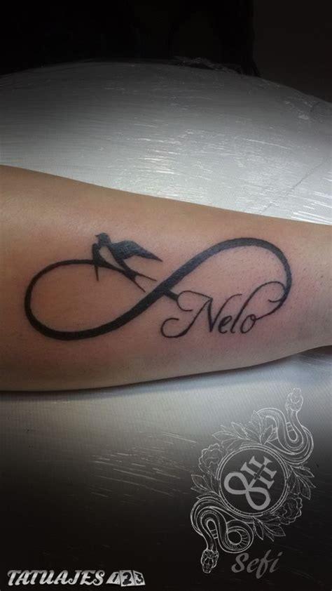 imagenes tatuajes infinito con nombres infinito con nombre y pajaro tatuajes 123