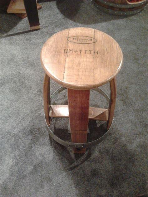Wine Barrel Stool by Custom Wine Barrel Stool By Alpine Wine Design