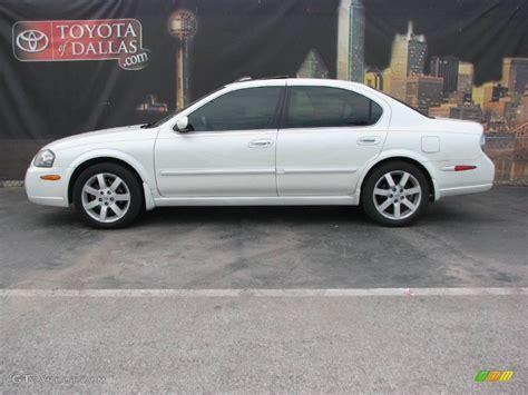 2003 Glacier White Pearl Nissan Maxima Gle 3265963