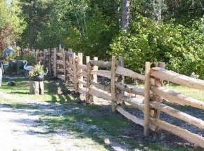 split rail fence pictures and ideas