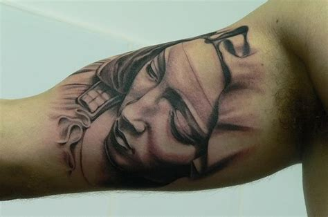inside bicep tattoo inner arm religious tattooshelenasaurus