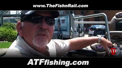 handicap fishing boat disabled angler bass boat quot the fishing rail quot youtube