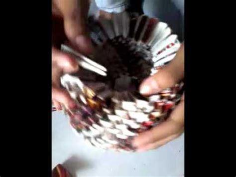 cara membuat vas bunga dari kertas rokok cara membuat gucci dari bekas kotak rokok by siti mahmudah
