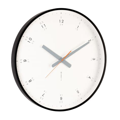 wall clock modern buy modern black wall clock online purely wall clocks