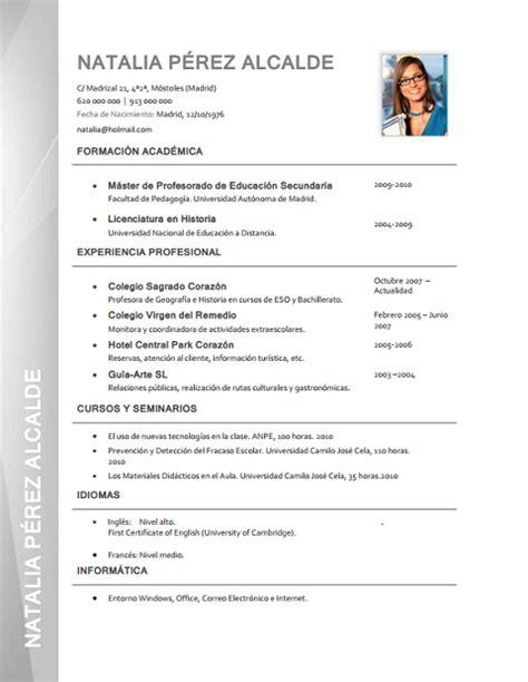 Modelo Curriculum Vitae Formal modelo de curriculum vitae formal modelo de curriculum vitae