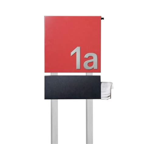 standbriefkasten mit hausnummer design standbriefkasten mit hausnummer se3