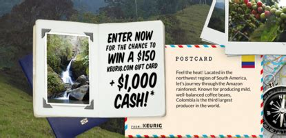 Journeys Sweepstakes - keurig java journeys sweepstakes sun sweeps