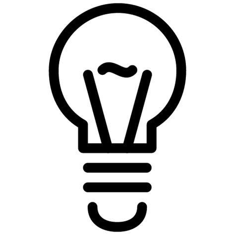 light bulb icon line iconset iconsmind