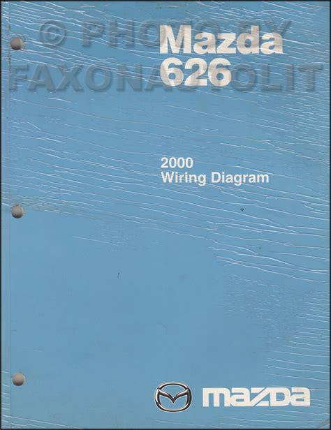 service and repair manuals 2000 mazda 626 parking system 2000 mazda 626 repair shop manual original