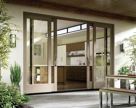 Modern Patio Door How To Choose Between Modern Traditional Patio Doors In San Diego