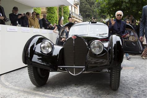 ralph bugatti ralph s bugatti 57sc atlantic wins best of show