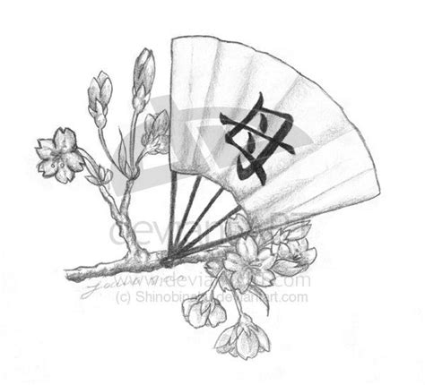 japanese fan tattoo designs japanese fan and cherry blossom idea my