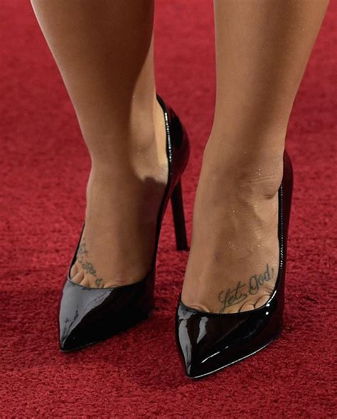 celebrity ink logo demi s foot tattoos read quot let go let god quot this
