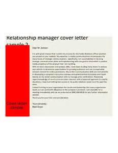 Relationship Officer Cover Letter by Resume Templates Ucapan Us