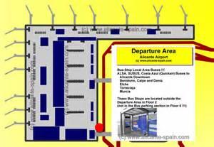 Naia Terminal 1 Floor Plan alicante airport bus