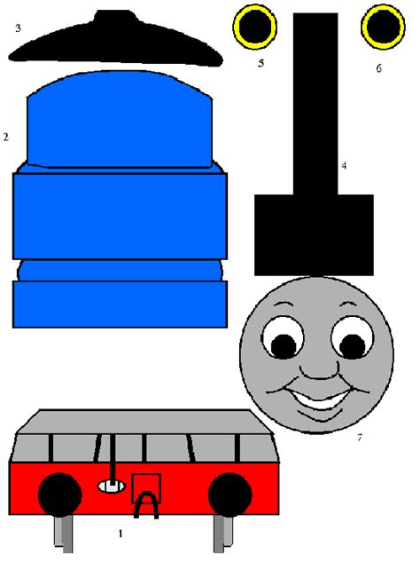 the tank engine template free template clipart best