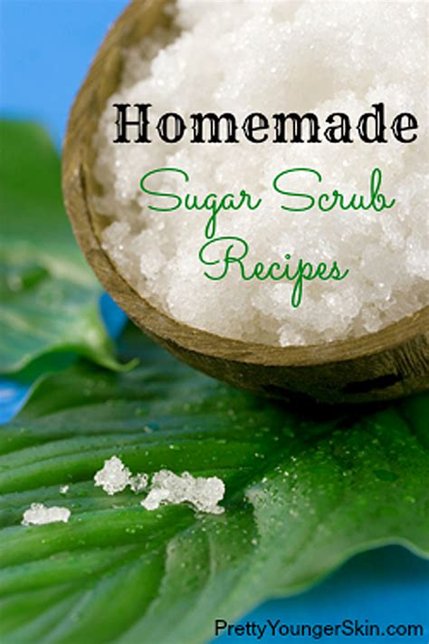 7 Scrumptious Homemade Sugar Scrub Recipes for Glowing Skin   Pretty Younger Skin