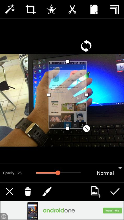 tutorial instagram in hand kekinian cara membuat hp transparan di tangan instagram in hand