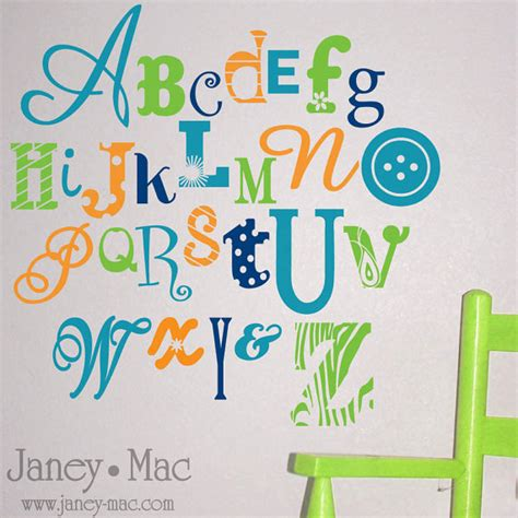 Wall Decal Letters For Nursery Wall Decal Wall Letter Decals For Nursery Make Your Own Wall Decal Vinyl Letter Decals