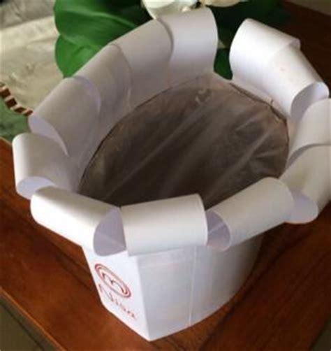 Topi Hotel Topi Plastik membuat topi chef oleh asyik belajar di rumah kompasiana