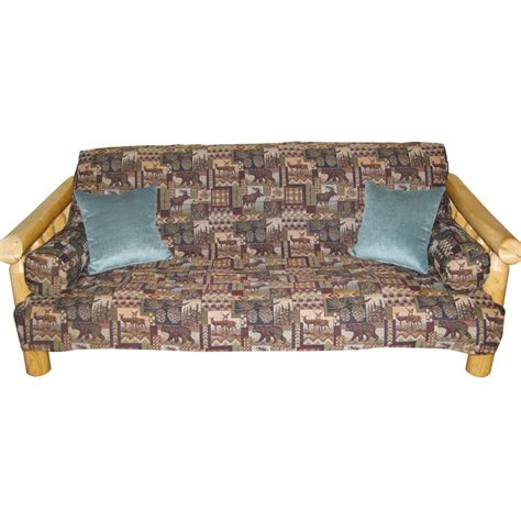 cabin futon covers advantage slipcover cabin place