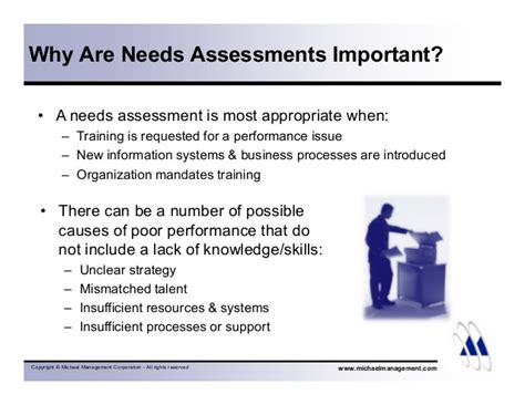 needs assessment exle 6 steps to an effective needs assessment