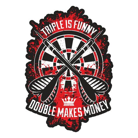 Tattoo Money Aufkleber aufkleber dart double makes money