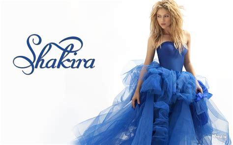 Sakira Blue shakira in blue dress hd