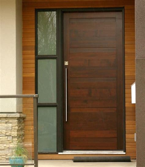 Contemporary Front Doors With Sidelights Modern Single Mahogany Entry Doors With Sidelights Home Doors Design Inspiration Doorsmagz