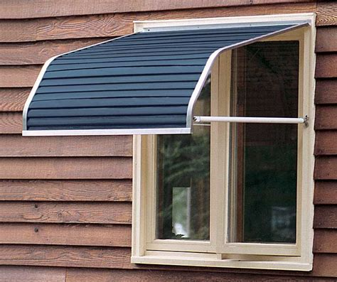 Metal Awnings For Windows by Awning Metal Window Awnings