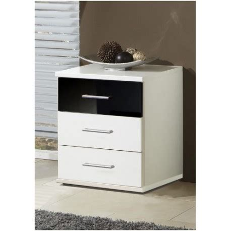 Black And White Chest Of Drawers Black And White Bedside Chest Of Drawers Less Half Price Furnitures Uk