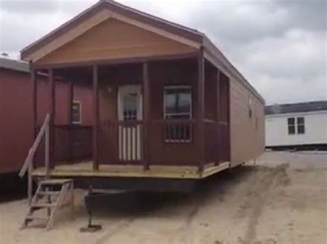 1 Bedroom Manufactured Home by 1 Bedroom 1 Bath Porch Model Cabin Clearance Tiny Houses