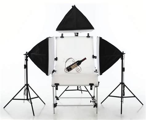 pro fotostudio softbox zelt 4x 135w tageslicht