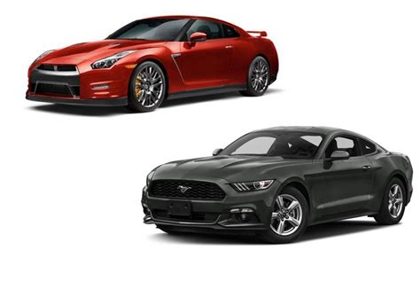 nissan ford ford mustang or nissan gtr fiat test drive