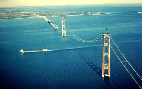 mighty mac the bridge that michigan built books building the mackinac bridge page 2