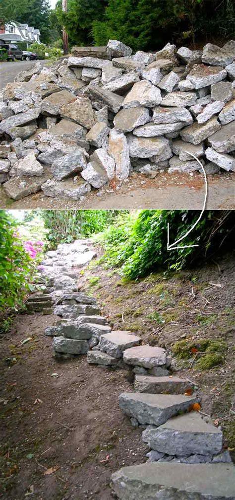 diy ideas   garden stairs  steps