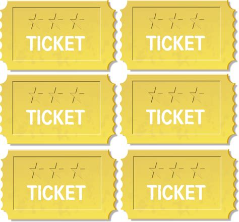 golden tickets clip art at clker com vector clip art
