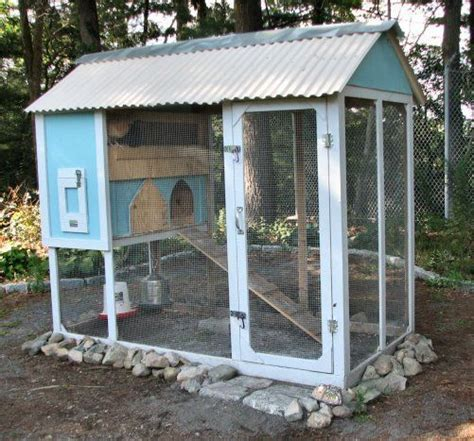 Backyard Chickens Coops by Splendid Built A Frame You Could Use An Swingset