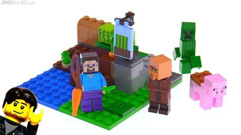 Lego 21138 Minecraft The Melon Farm lego minecraft the melon farm review 21138