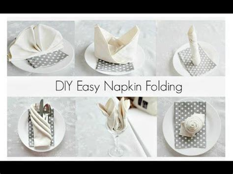 Easy Napkin Origami - 8 best images about gift wrapping packaging how to on