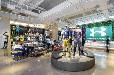 house stores armour unveils chicago brand house store concept