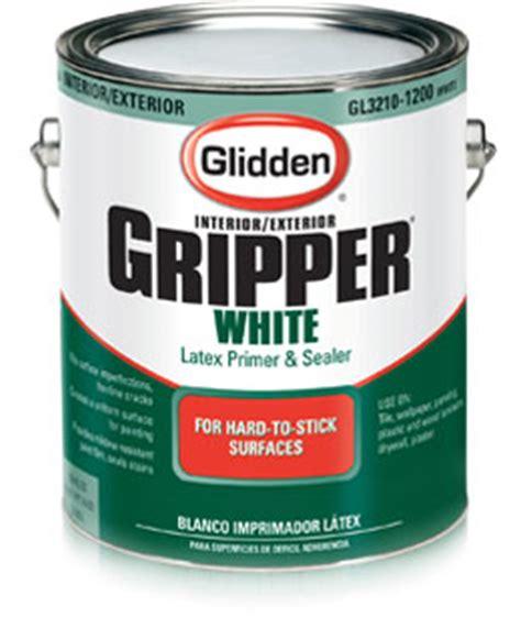 glidden 174 white gripper primer for light paint colors