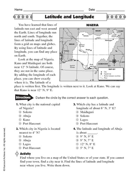 latitude and longitude worksheets for 6th grade counting number worksheets 187 time and longitude worksheets free printable worksheets for pre