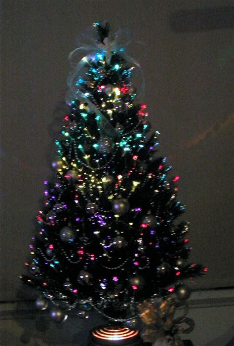 17 best images about small fiber optic christmas trees on