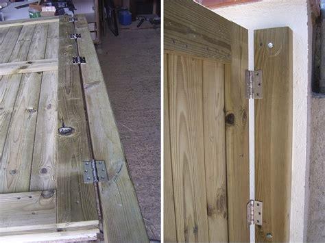 como hacer puerta de madera puertas de madera hacer bricolaje es facilisimo com