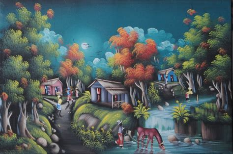 buy art haitian art frame art miami